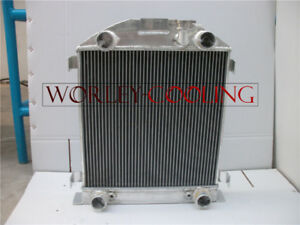 Aluminum Radiator For Ford Model A W flathead Engine 1928 1929 28 29