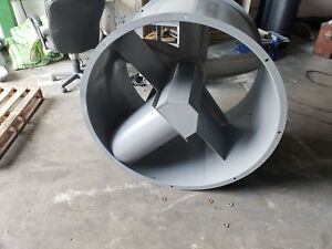 42 Dia Tube Axial Exhaust Fan For Paint Spray Booth No Motor