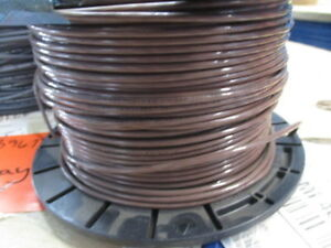 South Wire E51583 F Awg10 Insulated Brown Wire 500 Ft