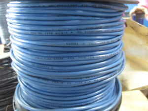 South Wire E51583 Insulated Blue Wire 500 Ft