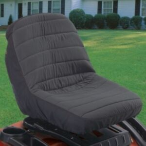 Deluxe Riding Lawn Mower Seat Cover Tractor Protector Garden Cushioned Case