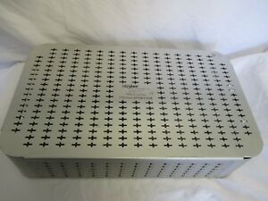 Sterilization Container Stryker 5100 175 Tps System Tray With 2 Inserts Used