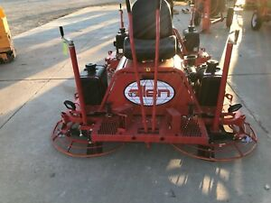 Demo Allen Engineering Mp235 Manual Steer6 Edger Riding Concrete Power Trowel