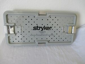 Endoscopic Camera Sterilization Tray Stryker 233 032 107 Tray Only Pre Owned