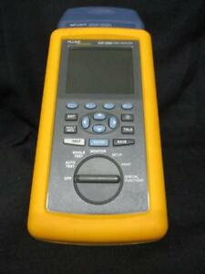 Fluke Dsp 4300 Cable Analyzer W Dsp lia012 Channel Adapter For Cat 6