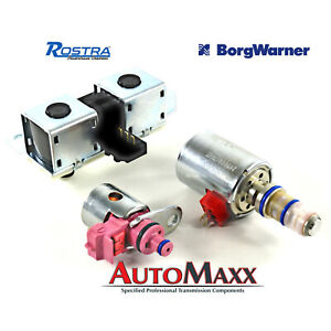 1998 04 Aode 4r70w Ford Transmission Solenoid New 3 Piece Set