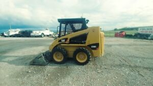 2015 Caterpillar 226b3 Joystick New Wheels And Tires Skid Steer Loader Used