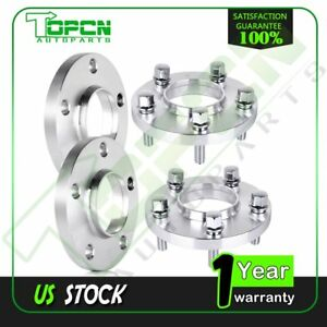 4pc 20mm Hub Centric Wheel Spacers Adapters 5x112 For Mercedes benz C300 C350