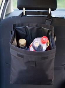Car Litter Trash Bag Garbage Can Extra Large Can Wrapper Bottle Collector Black