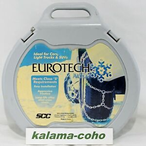 Eurotech Costco Tire Snow Chains 358208 Ea1705