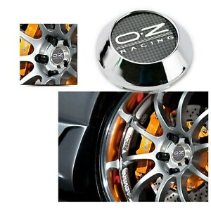 4x 68mm 62mm Oz Racing Wheel Center Hub Caps Chrome For Rota Slipstream Rims