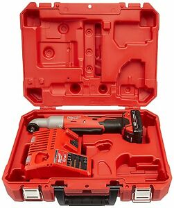 Milwaukee 2668 21ct M18 Cordless 3 8 Right Angle Impact Wrench Kit