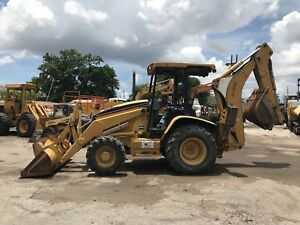 2006 Caterpillar 416d Backhoe Loader