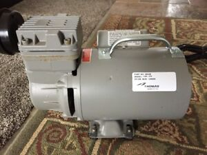 Thomas Lgh 310 Industrial Compressor Air Tank 260463 Vacuum Pump Magnetek 1 4 Hp