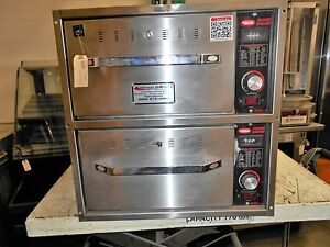 Hatco Hdw 2 Commercial 2 Drawer Warmer Hot Holding Cabinet Bun Warmer