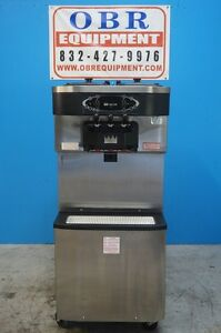 2009 Taylor Soft Serve Ice Cream Mfg In 2009 Model C713 27 Water Cooled 1 Phase