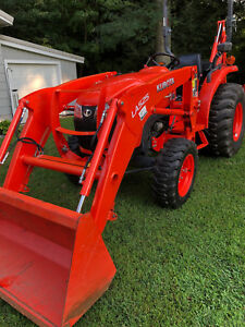 2016 Kubota L2501tlb 200 Hours And Powertrain Warranty Remaining