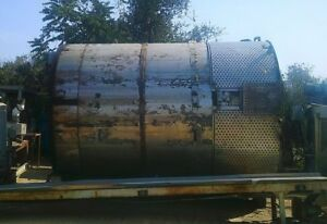 7 500 Gallon Stainless Steel Jacketed Tank