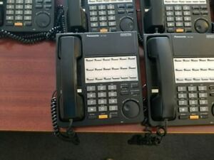 Panasonic D1232 Phone System With 8ext Digital Tvs200 Desk Phone
