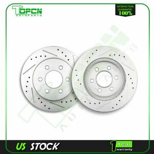 For 1998 1999 2000 2001 2002 Dodge Dakota Durango Front Brake Discs Rotors Kit