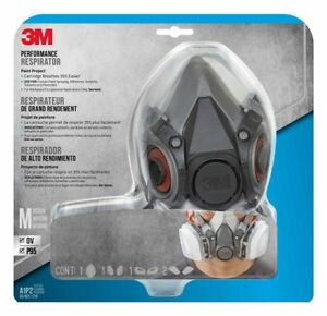 3m Respirator Dust Face Mask N95 Medium Paint Painting Particulate Case Of 4