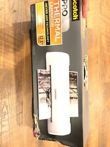 Scotch Pro Thermal Laminator New Never Used