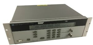 Hp 5350b 10ghz 20ghz Low Kickback Noise Cw Microwave Multi signal Counter