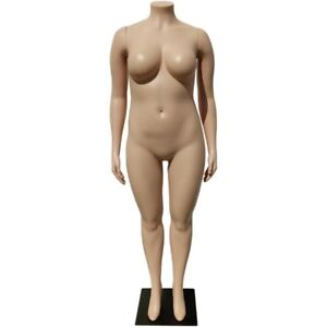 Mn 288 Plus Size Female Headless Plastic Mannequin Local Pickup Los Angeles