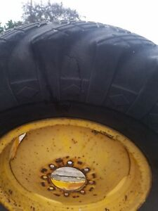 2 Used Tractor Tires 13 00 24 And Rims