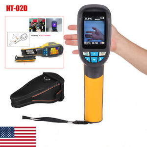 Ht 02d Handheld Thermal Imaging Camera Infrared Thermometer Gun 32 32 Imager
