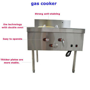 Commercial Restaurant Stove Gas Double Oven Keep Dishes Warm At The Same Time