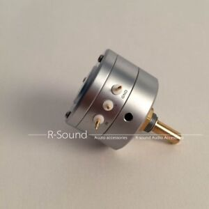 Eizz 100k Mono Channel Step Potentiometer For Hifi Audio Amplifier New Updated