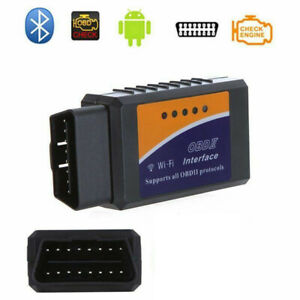 Wifi Obdii Elm327 Obd2 Auto Scanner For Iphone Android Pc Car Diagnostic Scan