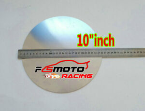 10 Inch Dia 255mm Aluminum Disc Circle Blank Plate Flat Sheet Round 2mm Thick