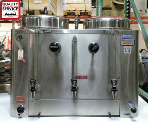 Grindmaster Amw 6445 Commercial Twin 6 Gallon Coffee Urn