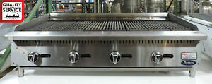 Atosa Atrc 48 Commercial 48 Lp Countertop Radiant Char broiler