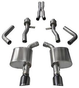 Corsa Sport Catback W Black Tips For 2015 2021 Dodge Charger Rt Scat Pack 6 4l