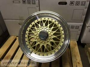 15 Rs Style Wheels Rims Gold 4 Lug Fits Acura Integra Rs Ls Gsr Vtec