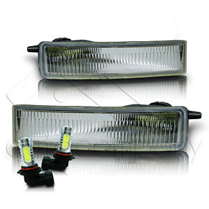 For 2004 2006 Scion Xb Bumper Fog Light And Switch Only W cob Led Bulbs Clear