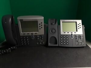 Cisco Systems Ip Phone 7900 Series 7960 7961 bundle Of 2