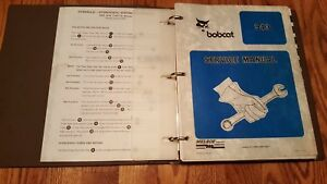 Bobcat 943 Service Manual W Binder