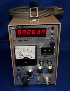Ludlum 2200 Scaler Rate Meter Sca Geiger Radiation