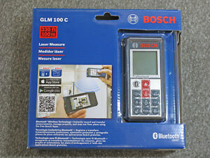 Bosch Glm 100 C Laser Measure New