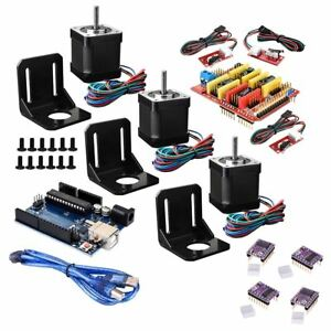 35 in 1 Diy Shield R3 Board Stepper Motor With Driver Switch Cnc Kit For Arduino