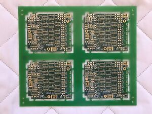 Spacelabs Med 2001 Unpopulated Circuit Board Lot Of 4 Made In Usa A4