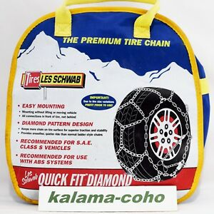 Les Schwab Tire Snow Chains 1553 s P225 70r15 P245 60r15 P255 60r15 235 60r16