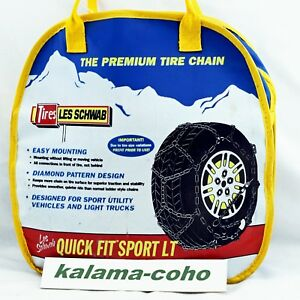 Les Schwab Lt Tire Snow Chains 2318 s 235 75r15lt P245 70r15 P225 75r16 More