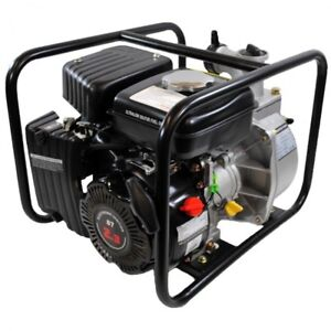 Portable Water Transfer Pump Gas Powered Irrigation Dewatering Trench Flood 2 Hp