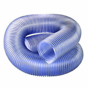 4 Diameter Clear Dust Collection Hose