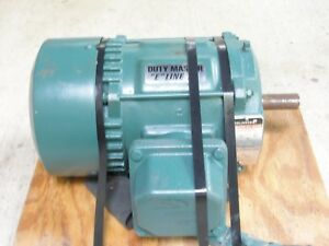 New 1 Hp Reliance Electric 3 Phase Ac Motor 230 460 V 1730 Rpm P14g2403n dw
